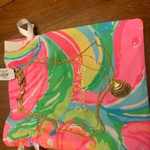Lilly Pulitzer seashell necklace